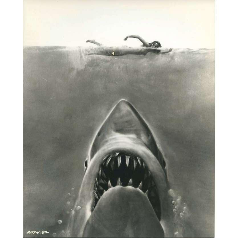 LES DENTS DE LA MER Photo de presse N09 - 20x25 cm. - 1975 - Roy Sheider, Steven Spielberg
