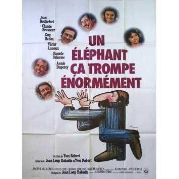 PARDON MON AFFAIRE French Movie Poster 47x63 - 1976 - Yves Robert, Jean Rochefort