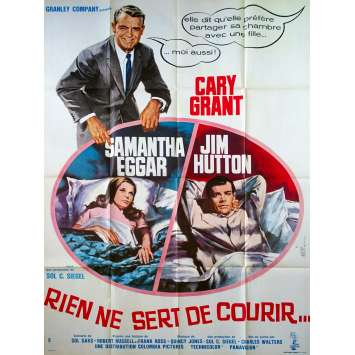 WALK, DON'T RUN French Movie Poster 47x63 - 1966 - Charles Walters, Cary Grant