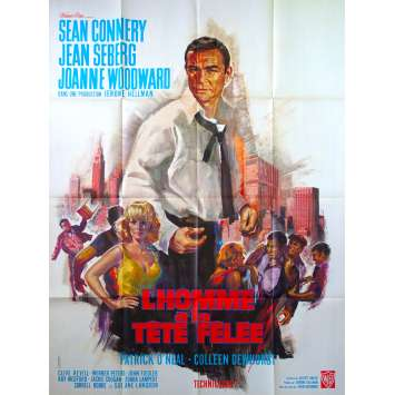 A FINE MADNESS French Movie Poster 47x63- 1966 - Irvin Kershner, Sean Connery