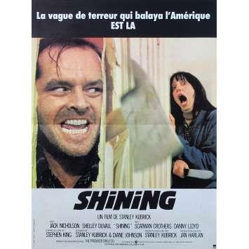 THE SHINING Original Movie Poster - 15x21 in. - 1980 - Stanley Kubrick, Jack Nicholson