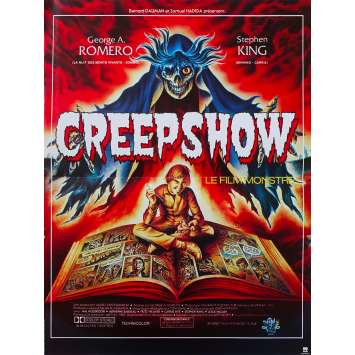 CREEPSHOW Affiche de film 40x60 cm - 1982 - Stephen King, George A. Romero