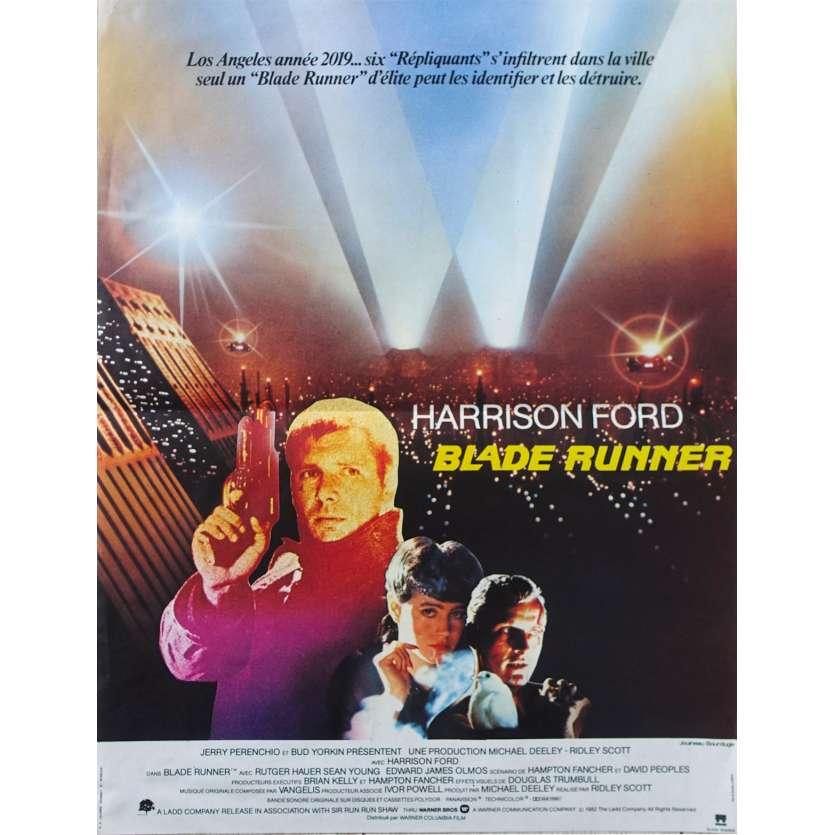 BLADE RUNNER Original Movie Poster - 15x21 in. - 1982 - Ridley Scott, Harrison Ford