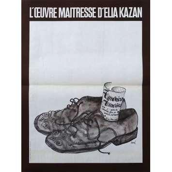 AMERICA AMERICA Original Movie Poster - 15x21 in. - 1963 - Elia Kazan, Stathis Giallelis