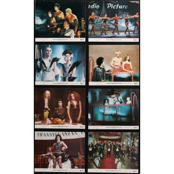 THE ROCKY HORROR PICTURE SHOW Original Lobby Cards x8 - 8x10 in. - 1975 - Jim Sharman, Tim Curry