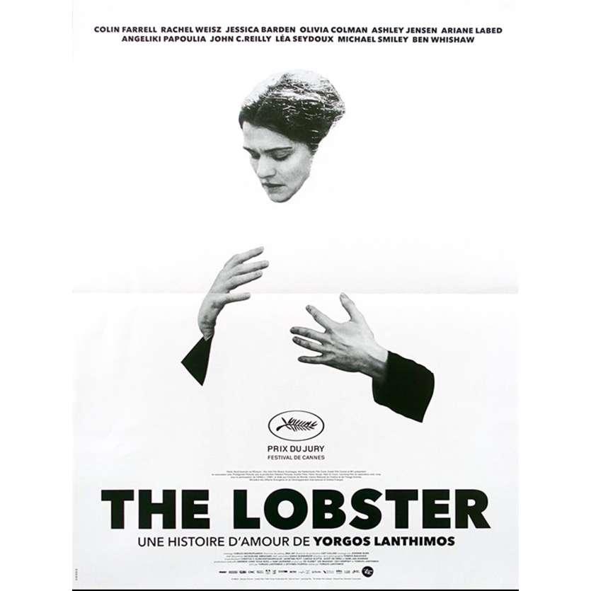 THE LOBSTER Affiche de film Rachel Style - 40x60 cm. - 2015 - Colin Farrell, Rachel Weisz, Yorgos Lanthimos
