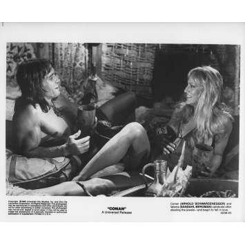 CONAN LE BARBARE Photo de presse 5236-20 - 20x25 cm. - 1982 - Arnold Schwarzenegger, John Milius