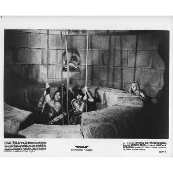 CONAN THE BARBARIAN Original Movie Still 5236-19 - 8x10 in. - 1982 - John Milius, Arnold Schwarzenegger