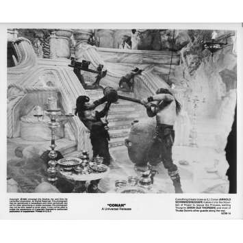 CONAN LE BARBARE Photo de presse 5236-14 - 20x25 cm. - 1982 - Arnold Schwarzenegger, John Milius