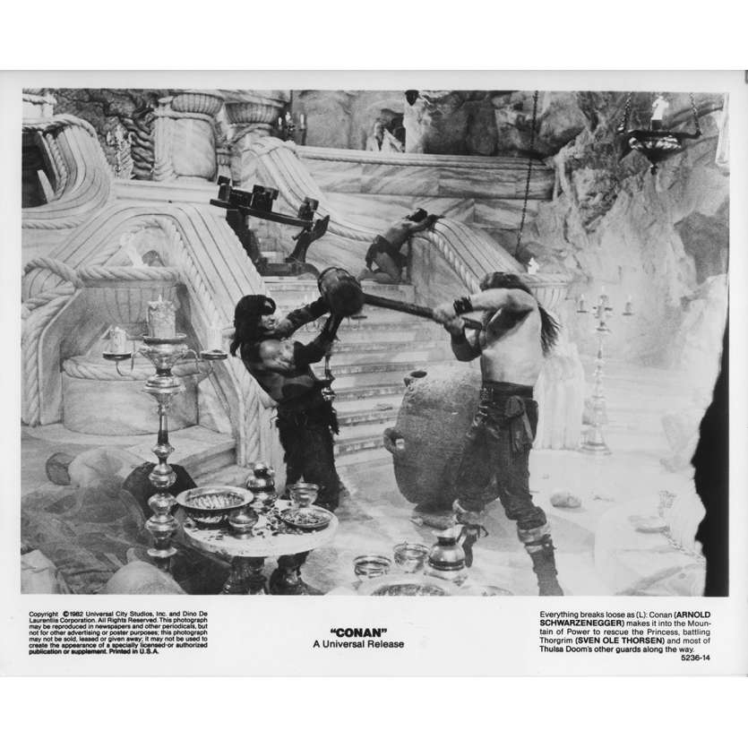 CONAN THE BARBARIAN Original Movie Still 5236-14 - 8x10 in. - 1982 - John Milius, Arnold Schwarzenegger