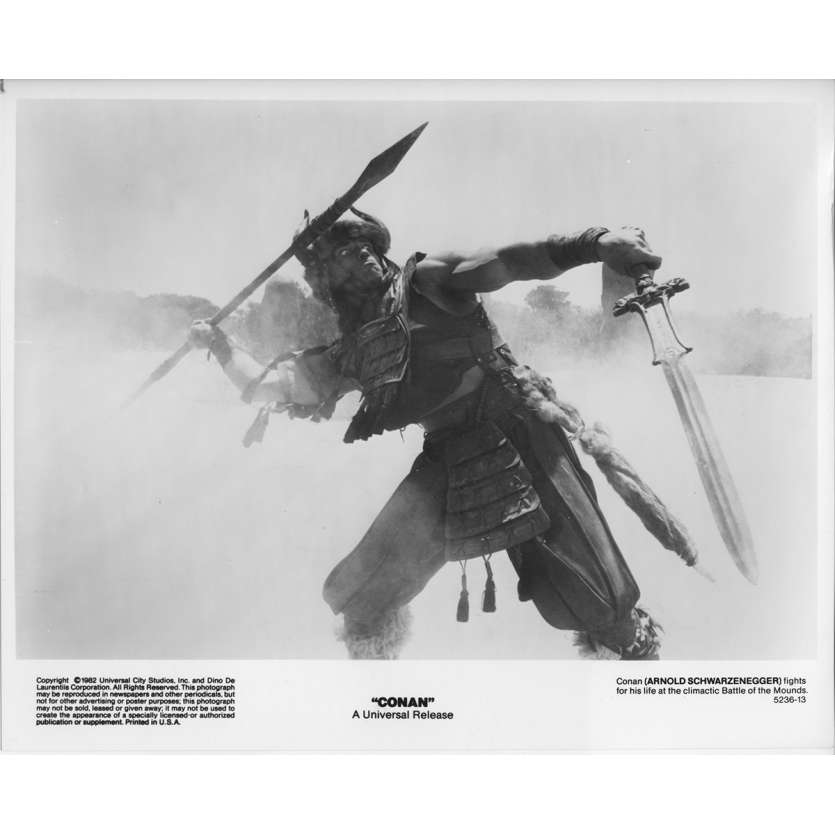 CONAN THE BARBARIAN Original Movie Still 5236-13 - 8x10 in. - 1982 - John Milius, Arnold Schwarzenegger