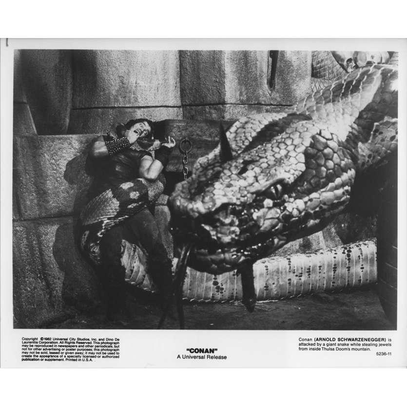 CONAN THE BARBARIAN Original Movie Still 5236-11 - 8x10 in. - 1982 - John Milius, Arnold Schwarzenegger