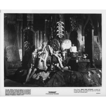CONAN LE BARBARE Photo de presse 5236-8 - 20x25 cm. - 1982 - Arnold Schwarzenegger, John Milius