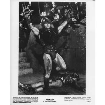 CONAN THE BARBARIAN Original Movie Still 5236-7 - 8x10 in. - 1982 - John Milius, Arnold Schwarzenegger