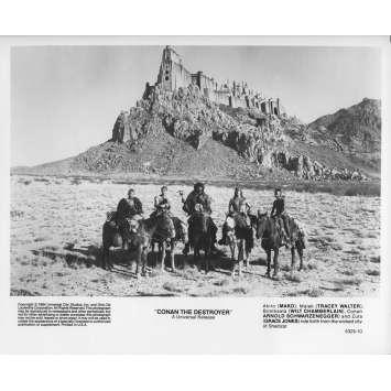 CONAN LE DESTRUCTEUR Photo de presse 5325-10 - 20x25 cm. - 1984 - Arnold Schwarzenegger, Richard Fleisher