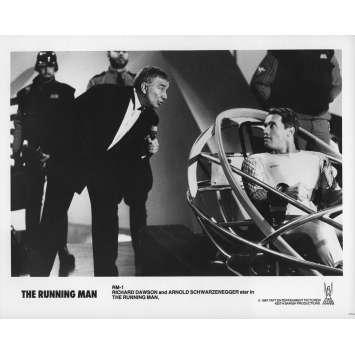 THE RUNNING MAN Original Movie Still RM-1A - 8x10 in. - 1987 - Paul Michael Glaser, Arnold Schwarzenegger