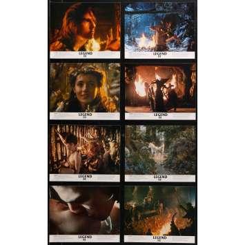 LEGEND Original Lobby Cards x8 - 8x10 in. - 1986 - Ridley Scott, Tom Cruise