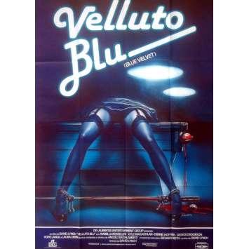 BLUE VELVET Affiche de film 100x140 - 1986 - Isabella Rosselini, David Lynch