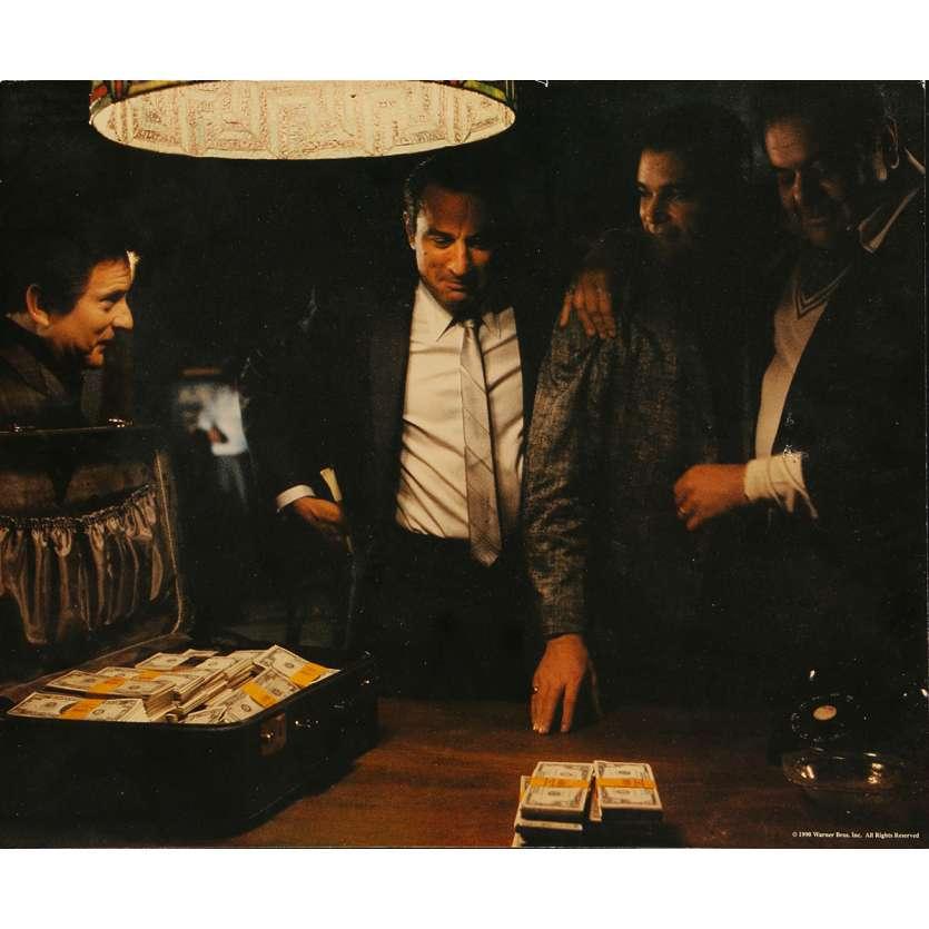 LES AFFRANCHIS Photos de film géante N04 - 34x41 cm. - 1990 - Robert de Niro, Martin Scorsese