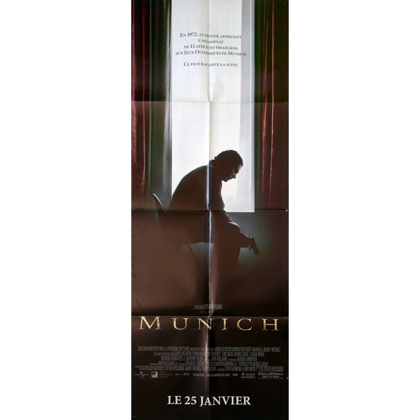 MUNICH French Movie Poster 23x63 '06 Steven Spielberg, Eric Bana