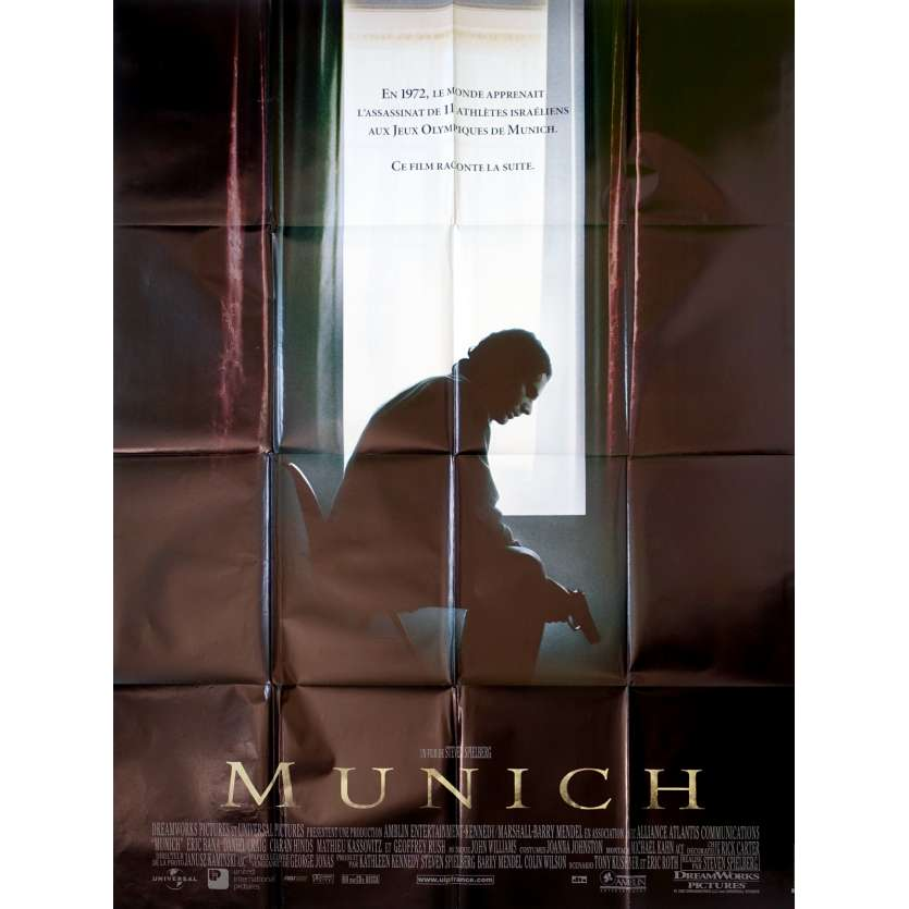 MUNICH French Movie Poster 47x63 '06 Steven Spielberg, Eric Bana
