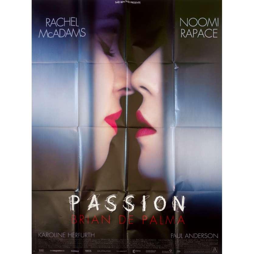 PASSION Affiche de film 120x160 - 2013- Brian de Palma, Rachel McAdams, Noomi Rapace