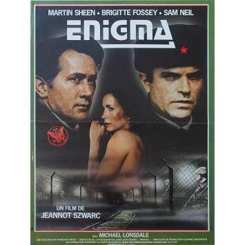 ENIGMA Affiche de film 40x60 - 1983 - Sam Neil, Martin Sheen