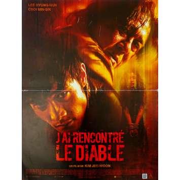 J'AI RENCONTRE LE DIABLE Affiche de film 40x60 - 2010 - Kim Jee-Woon, Akmareul boatda