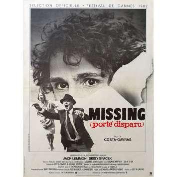 MISSING Affiche de film 40x60 - 1980 - Costa Gavras, Jack Lemmon