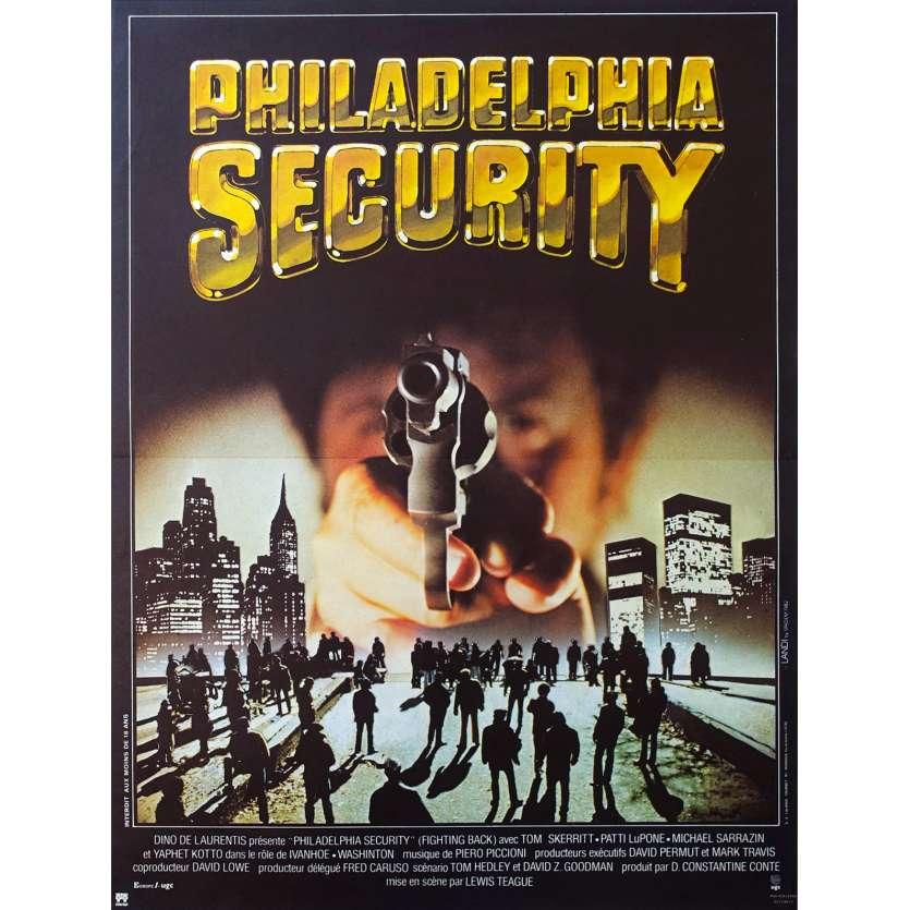 PHILADELPHIA SECURITY Affiche de film 40x60 - 1982 - Tom Skerritt