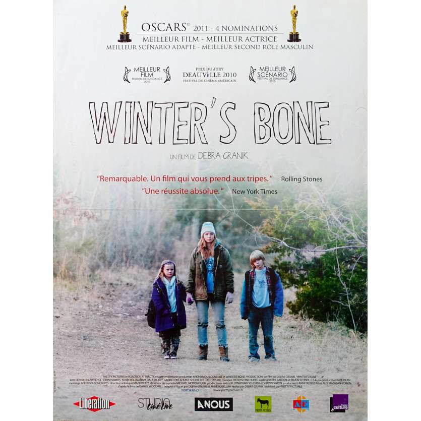 WINTER'S BONE Affiche de film 40x60 - 2010 - Jennifer Lawrence