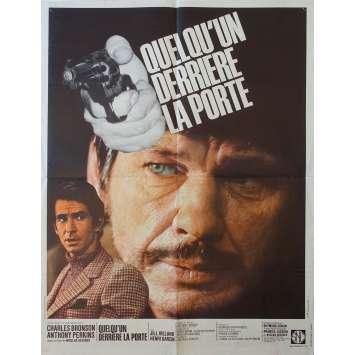 QUELQU'UN DERRIERE LA PORTE Affiche de film 60x80 - 1976 - Charles Bronson