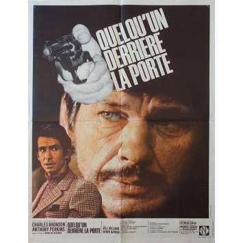 SOMEONE BEHIND THE DOOR French Movie Poster 23x31 Charles Bronson