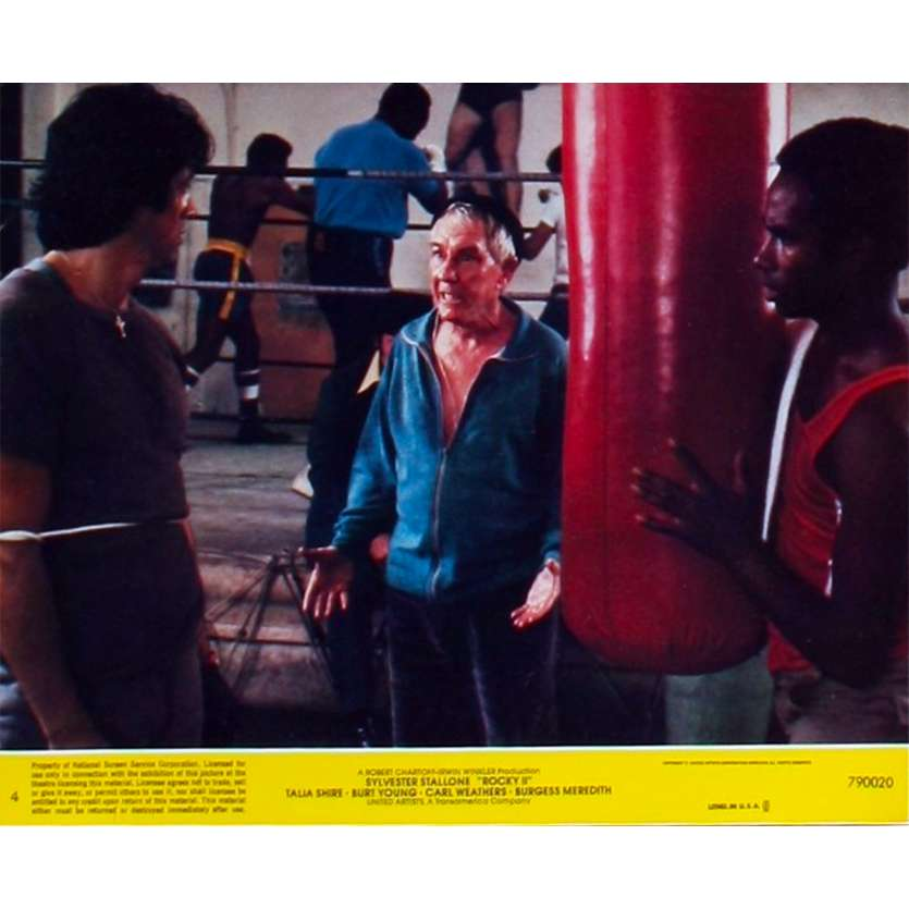 ROCKY 2 Photo de Film N7 20x25 - 1979 - Carl Weathers, Sylvester Stallone