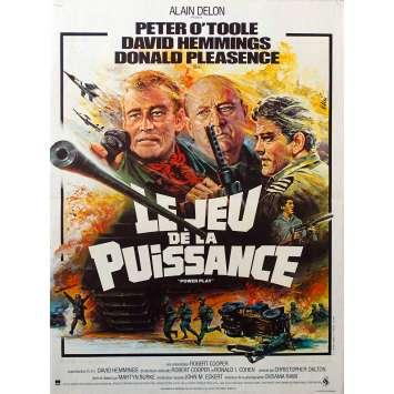 LE JEU DE LA PUISSANCE Affiche de film - 40x60 cm. - 1978 - Peter O'Toole, Donald Pleasance