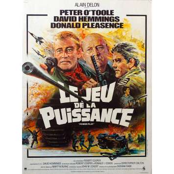 POWER PLAY Original Movie Poster - 15x21 in. - 1978 - Donald Pleasance, Peter O'Toole