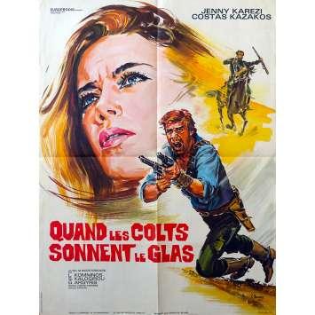 QUAND LES COLTS SONNENT LE GLAS Affiche de film 60x80 - 1968 - Western