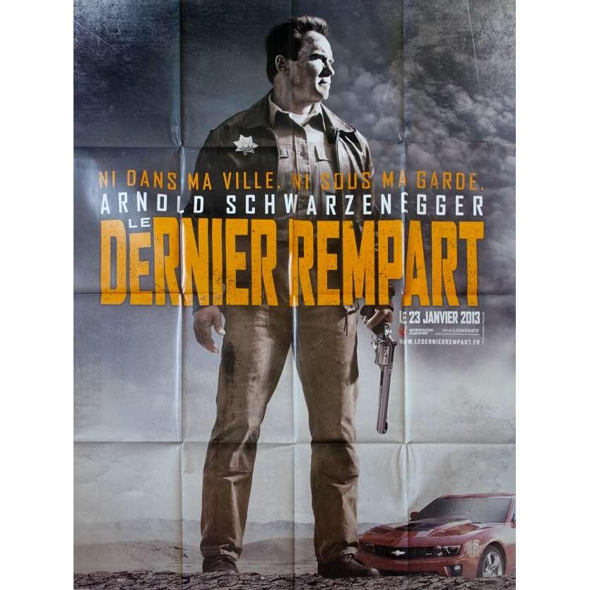LE DERNIER REMPART Affiche de film 120x160 - 2012 - Schwarzenegger
