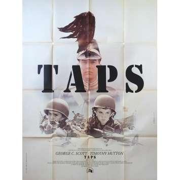 TAPS French Movie Poster 47x63 '81 Tom Cruise, Sean Penn