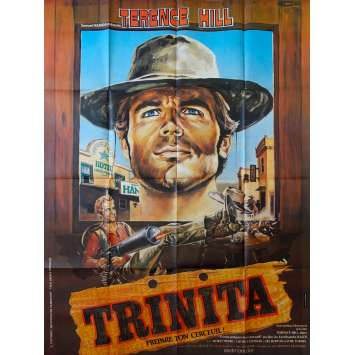 VIVA DJANGO French Movie Poster 47x63 Terence Hill Movie Poster