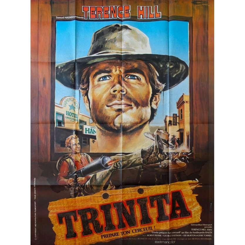 TRINITA PREPARE TON CERCUEIL Affiche de film 120x160 - 1968 - Terence Hill