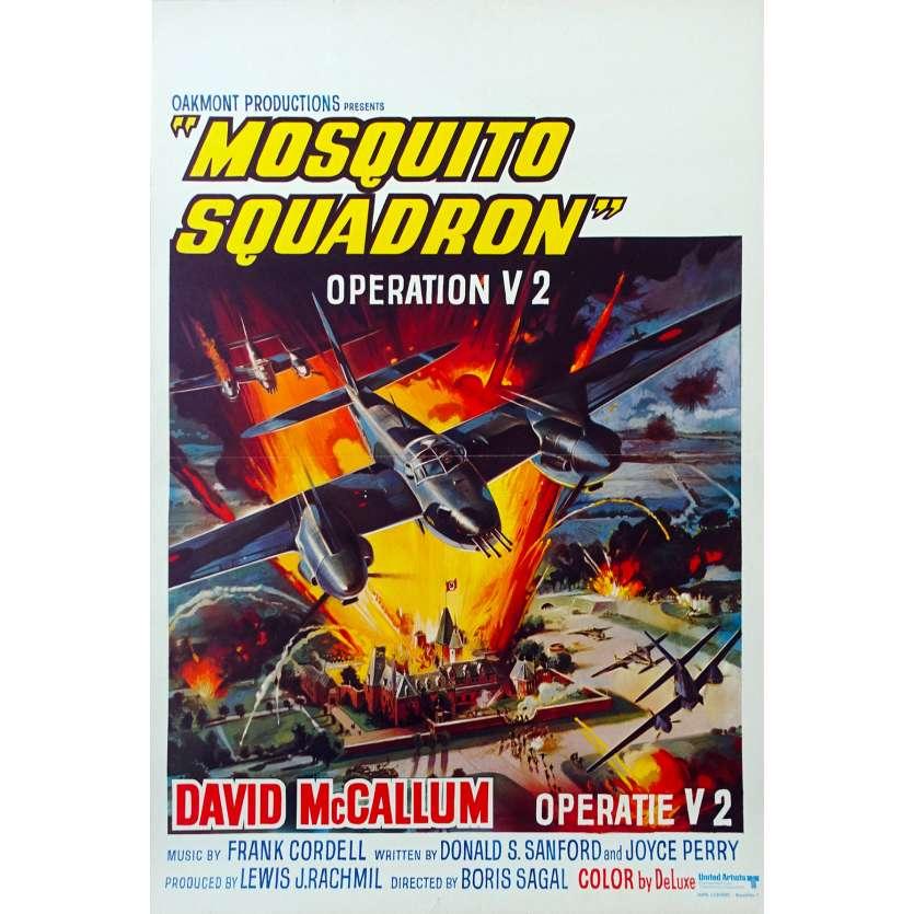 OPERATION V2 Affiche de film 35x55 BE - 1969 - Davd Mc Callum