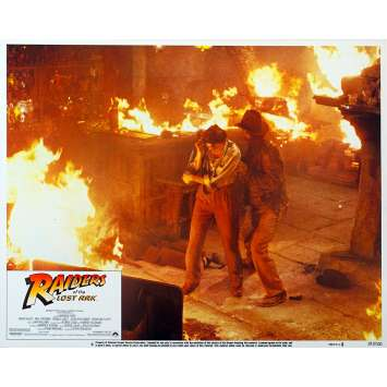 INDIANA JONES - LES AVENTURIERS DE L'ARCHE PERDUE Photo d'exploitation N6 '81 Spielberg Lobby Card Indiana jones