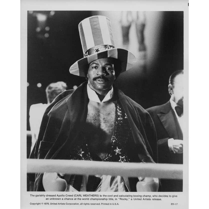 ROCKY Photo de presse RY-17 - 20x25 cm. - 1976 - Sylvester Stallone, John G. Avildsen