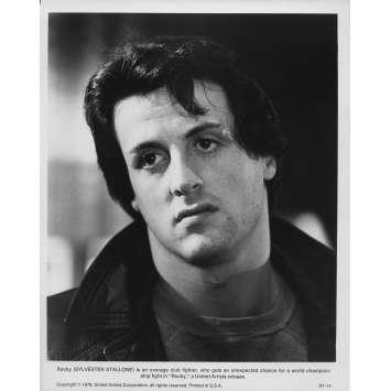 ROCKY Photo de presse RY-14 - 20x25 cm. - 1976 - Sylvester Stallone, John G. Avildsen