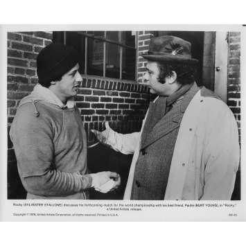 ROCKY Photo de presse RY-13 - 20x25 cm. - 1976 - Sylvester Stallone, John G. Avildsen