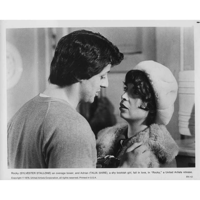 ROCKY Original Movie Still RY-12 - 8x10 in. - 1976 - John G. Avildsen, Sylvester Stallone