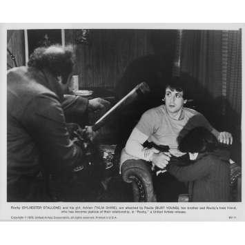 ROCKY Photo de presse RY-11 - 20x25 cm. - 1976 - Sylvester Stallone, John G. Avildsen