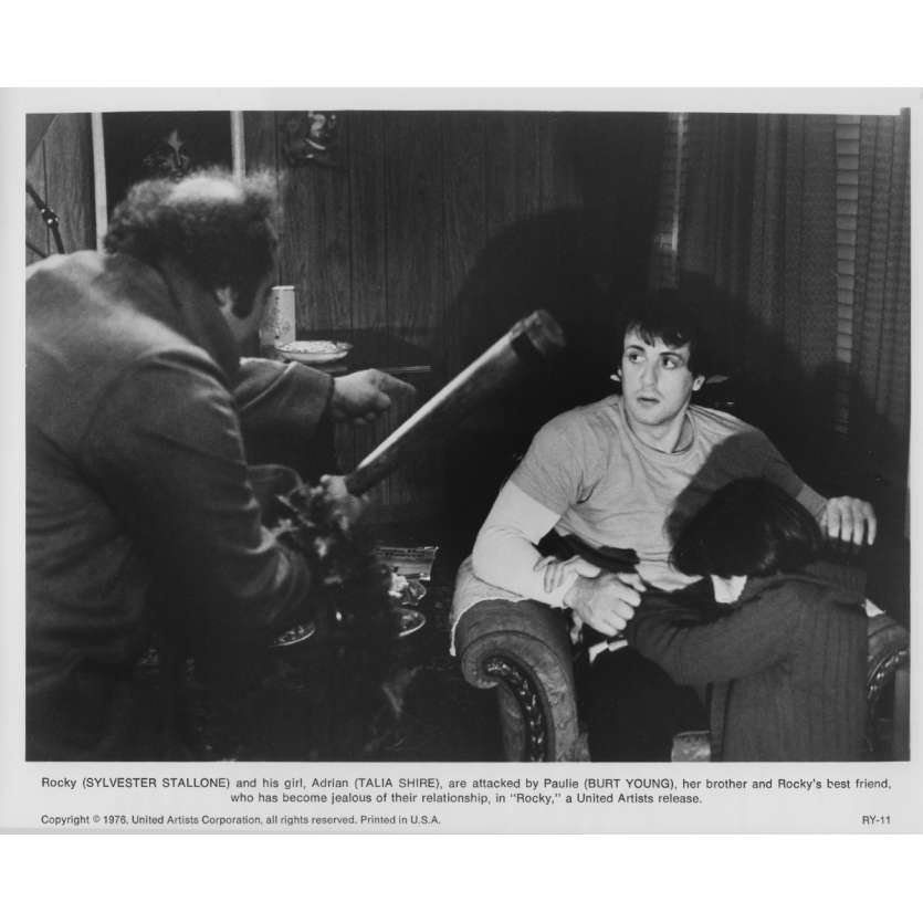 ROCKY Original Movie Still RY-11 - 8x10 in. - 1976 - John G. Avildsen, Sylvester Stallone