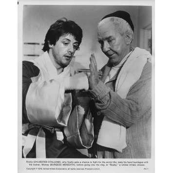 ROCKY Photo de presse RY-7 - 20x25 cm. - 1976 - Sylvester Stallone, John G. Avildsen